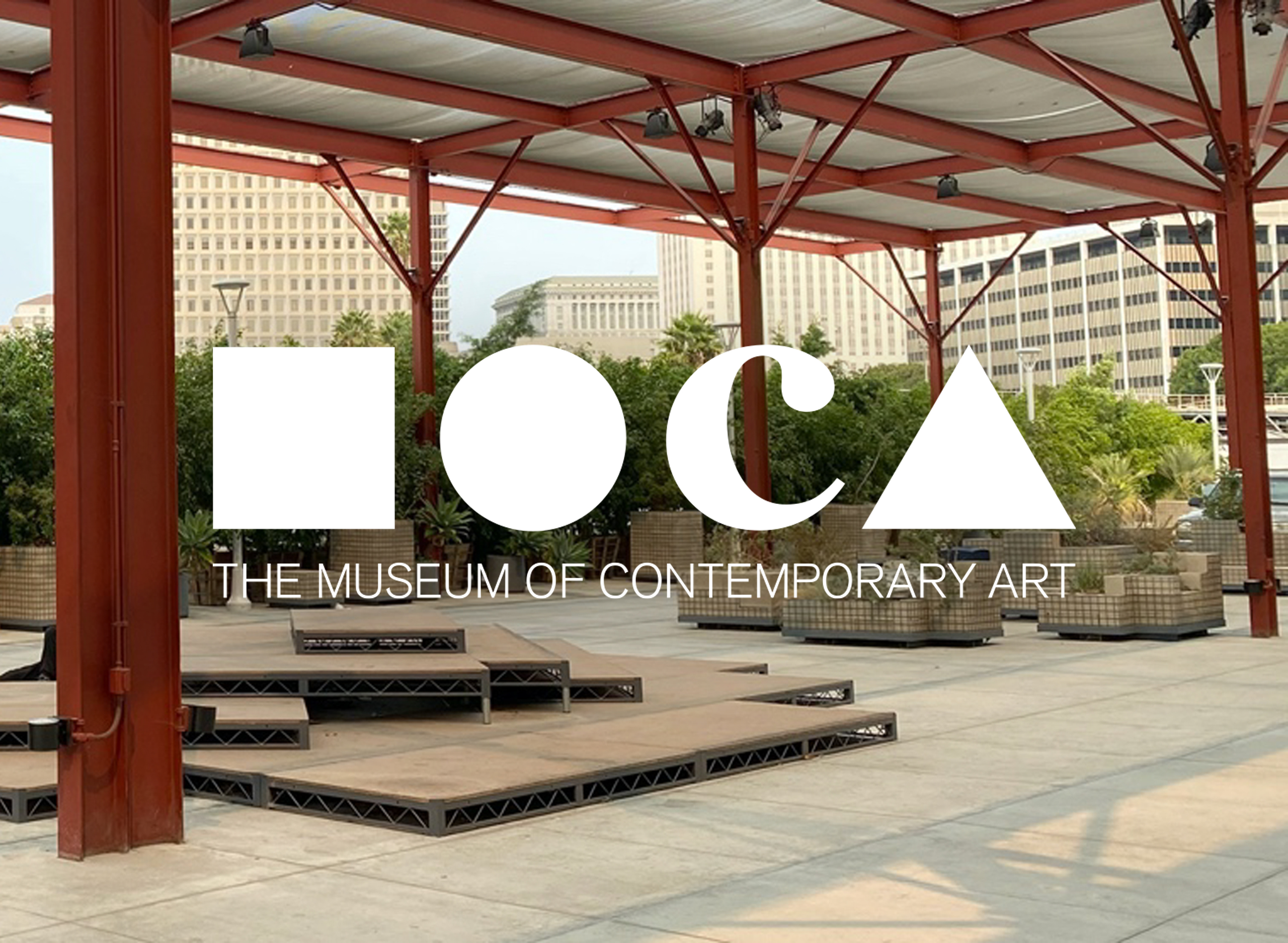 Plaza at The Geffen Contemporary at MOCA
